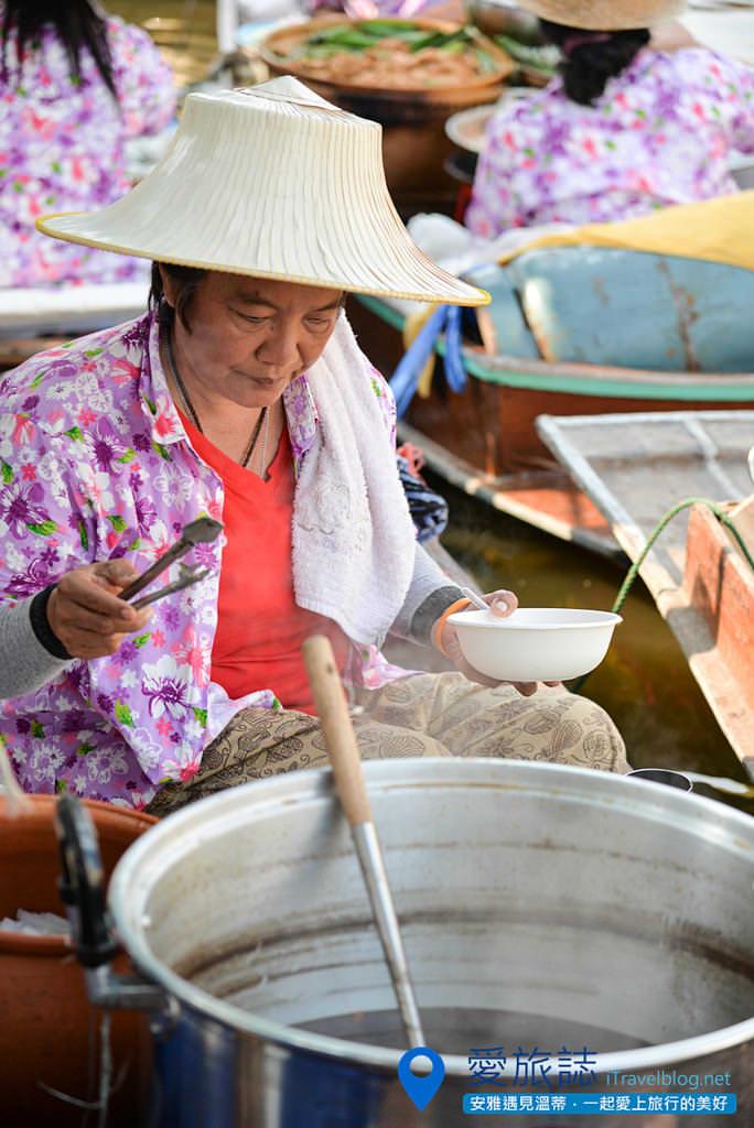 《曼谷景點推薦》曼谷護城河水上市場:前往空帕敦功卡盛運河,造訪官方推動的示範景點。