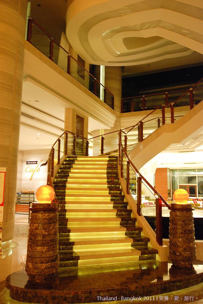 《曼谷飯店推薦》The Grand Four Wings Convention Hotel 曼谷飛躍大酒店。(房間篇)