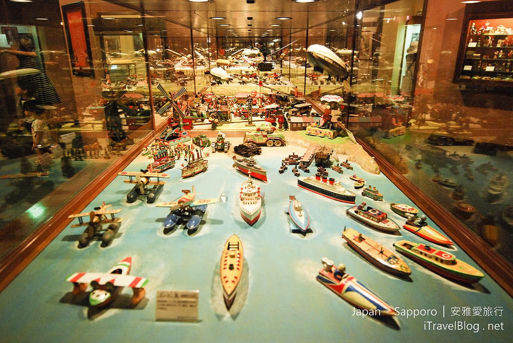 《札幌景點推薦》北海道札幌白色戀人公園 – 留聲機展覽館、懷舊兒童玩具箱(ファクトリーウォーク)。