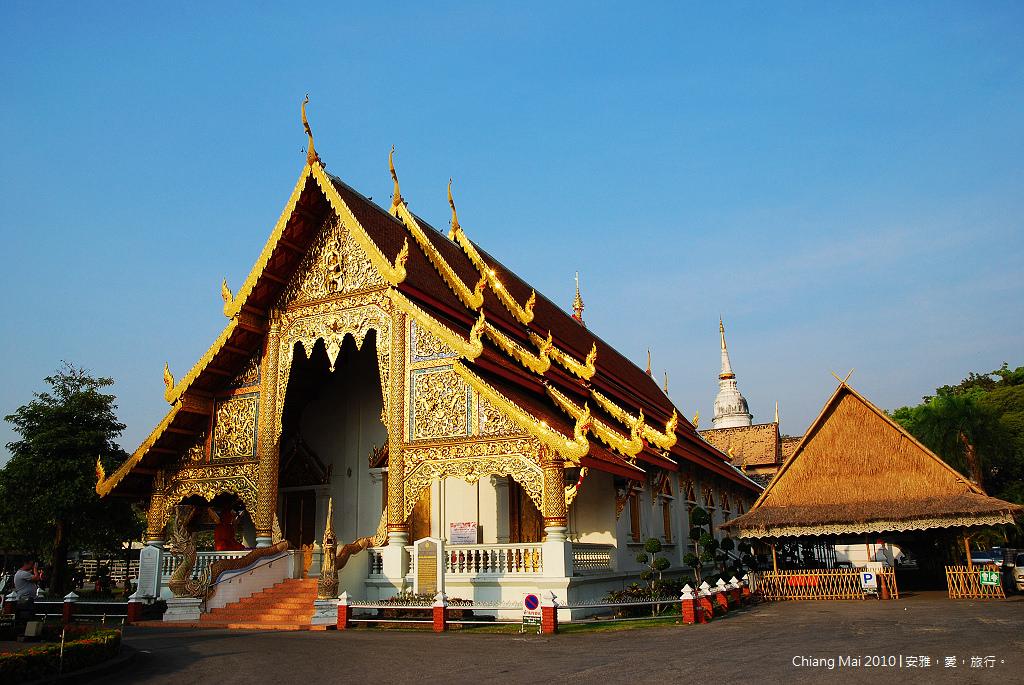 《清邁寺廟巡禮》Wat Phra Singh 帕邢寺:清邁古城內香火最鼎盛的寺廟。