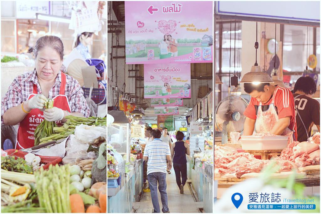 《清邁市集即景》Siriwattana Market 塔尼市場:清邁古城北門外的在地傳統市場,好吃好逛又便宜。