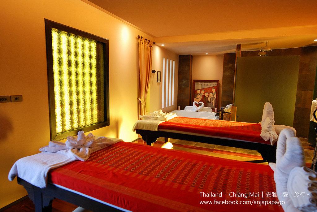 《清邁SPA按摩推薦》Siripanna Villa Resort & Spa Chiang Mai 酒店內的 Panna Spa。