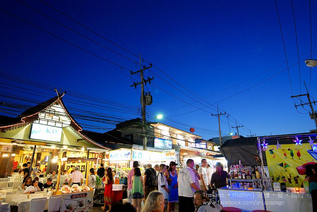 《華欣夜市美食》泰國海鮮美食餐廳 KO Seafood。