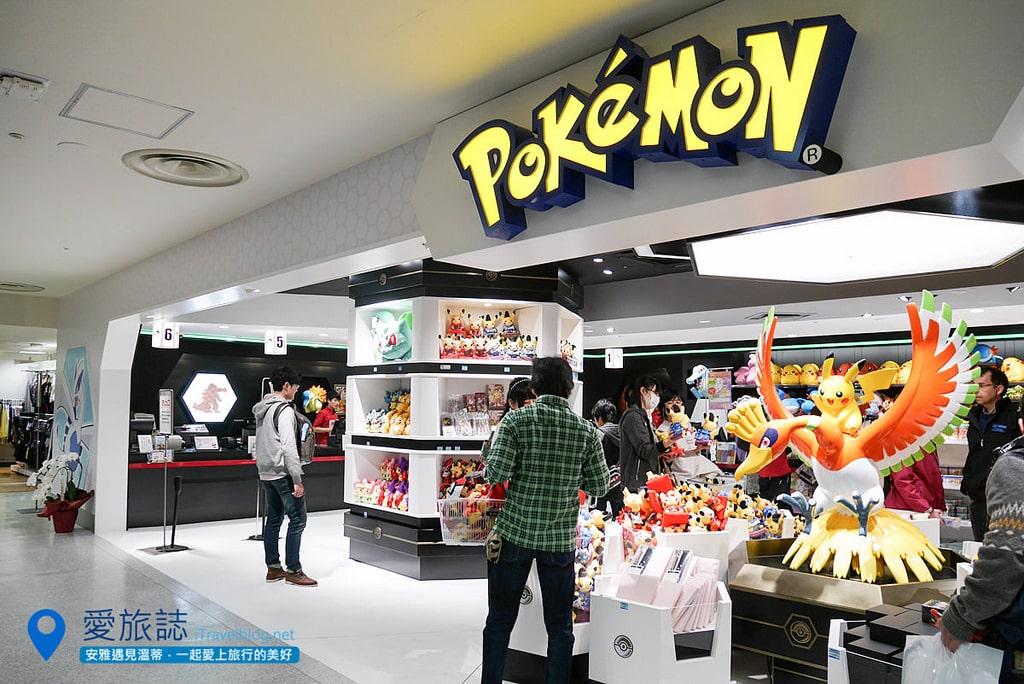 《京都必買推薦》Pokemon Store 皮卡丘專賣店:一次收服精靈寶可夢限定商品、扭蛋、遊戲!
