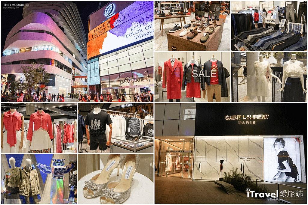 《曼谷購物中心》The EmQuartier Bangkok:2015年新開幕百貨公司,時尚潮牌、美味料理匯集地。