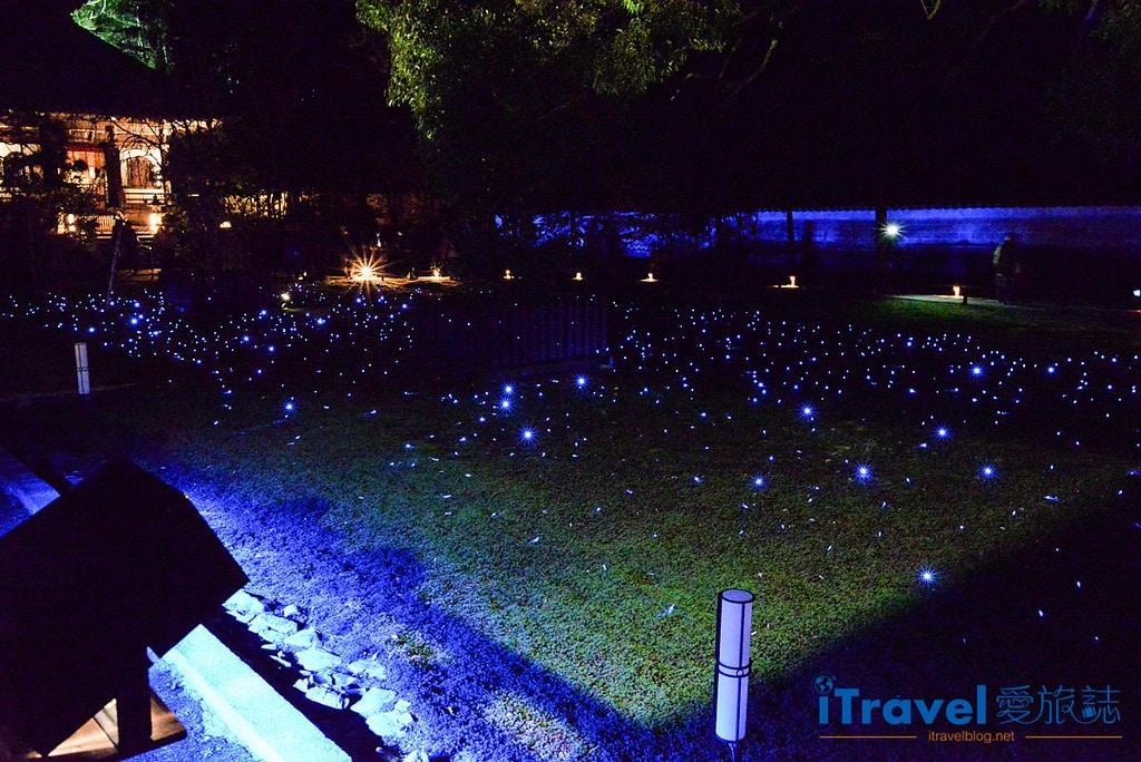 《京都賞楓景點》青蓮院門跡:夜間點燈拜觀,造訪東山青燈點點的迴游式日式庭園。