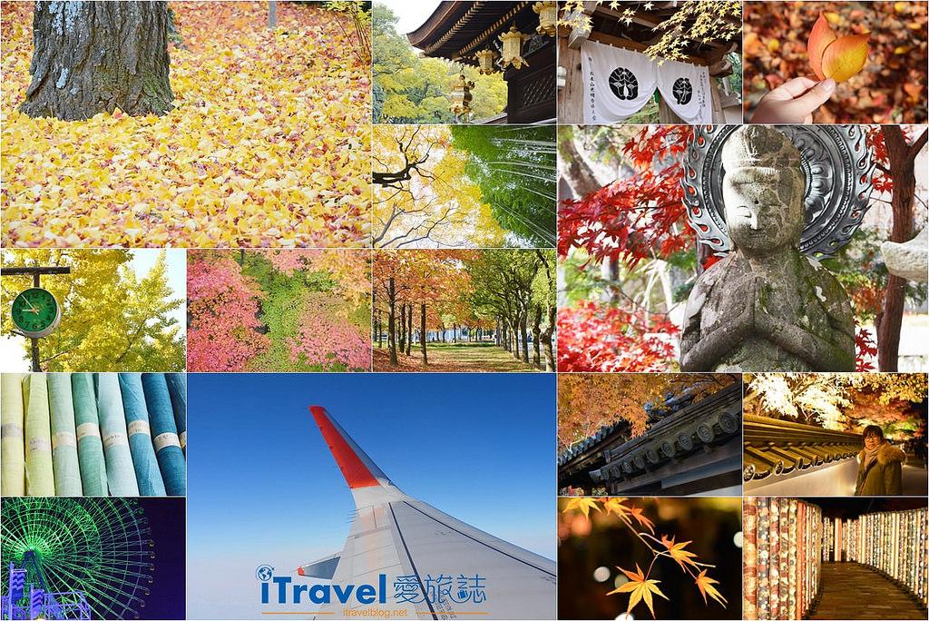 《關西京阪自由行》九天八夜賞楓行程攻略:京都與大阪的紅葉共舞銀杏美景。