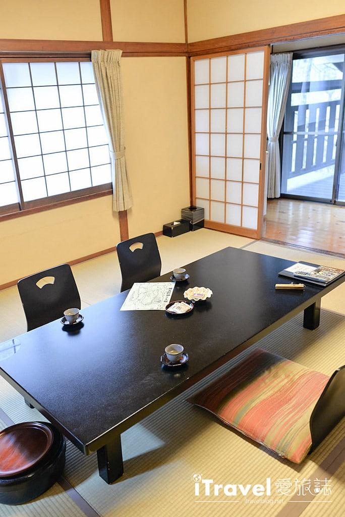 《熊本飯店推薦》黑川溫泉夢龍胆旅館冬雪泡湯,一泊朝食體驗日本湯泉文化。