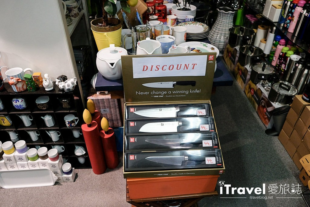 《法蘭克福購物血拼》Die Schaulade Frankfurt GmbH 德國必買好物專賣店,一次敗入Wüsthof三叉牌、Victorinox瑞士維氏廚刀具。