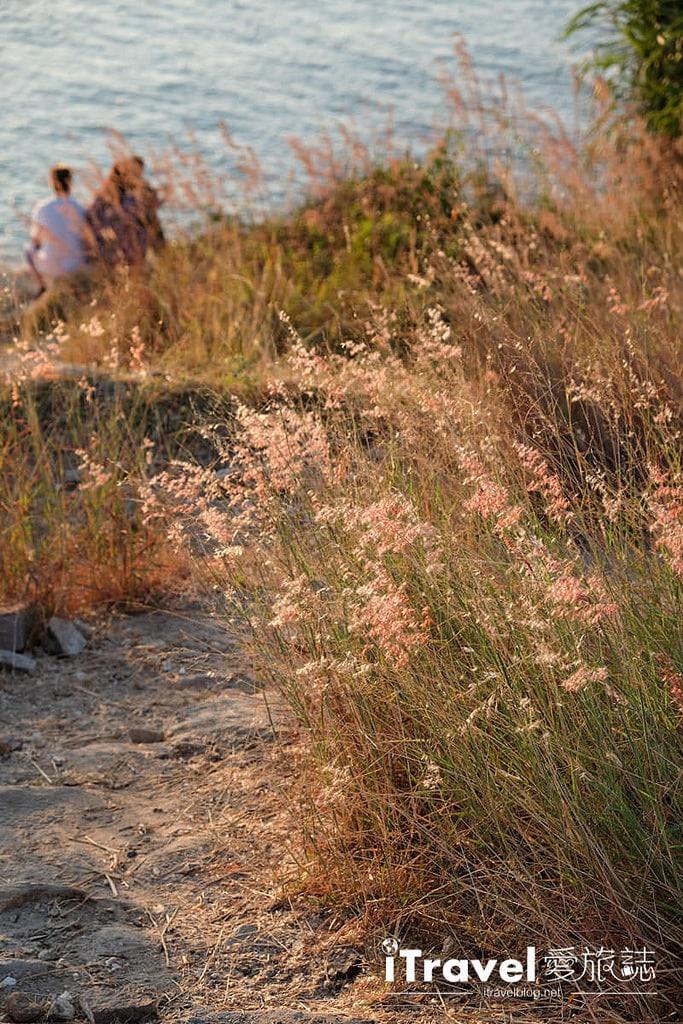 《沙美島景點推薦》西岸夕陽景點巡禮:租賃摩托車南北貫穿奔馳,連續造訪三個日落景點。