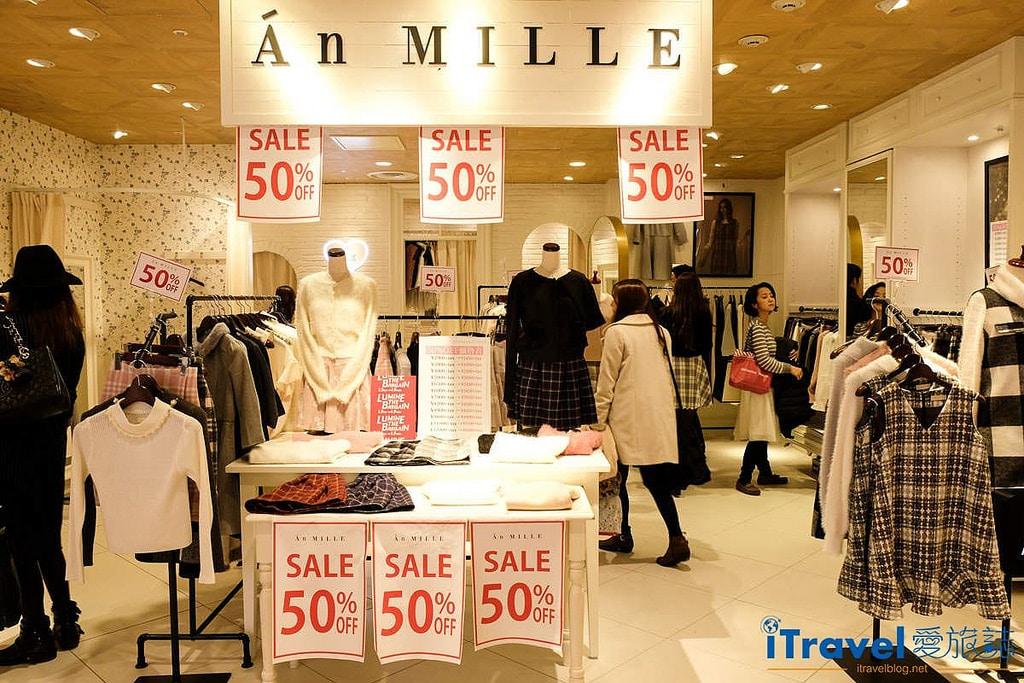 《東京購物中心》新宿LUMINE1、2、LUMINE EST折扣季實戰資訊,與入手Goa N3B外套開箱。