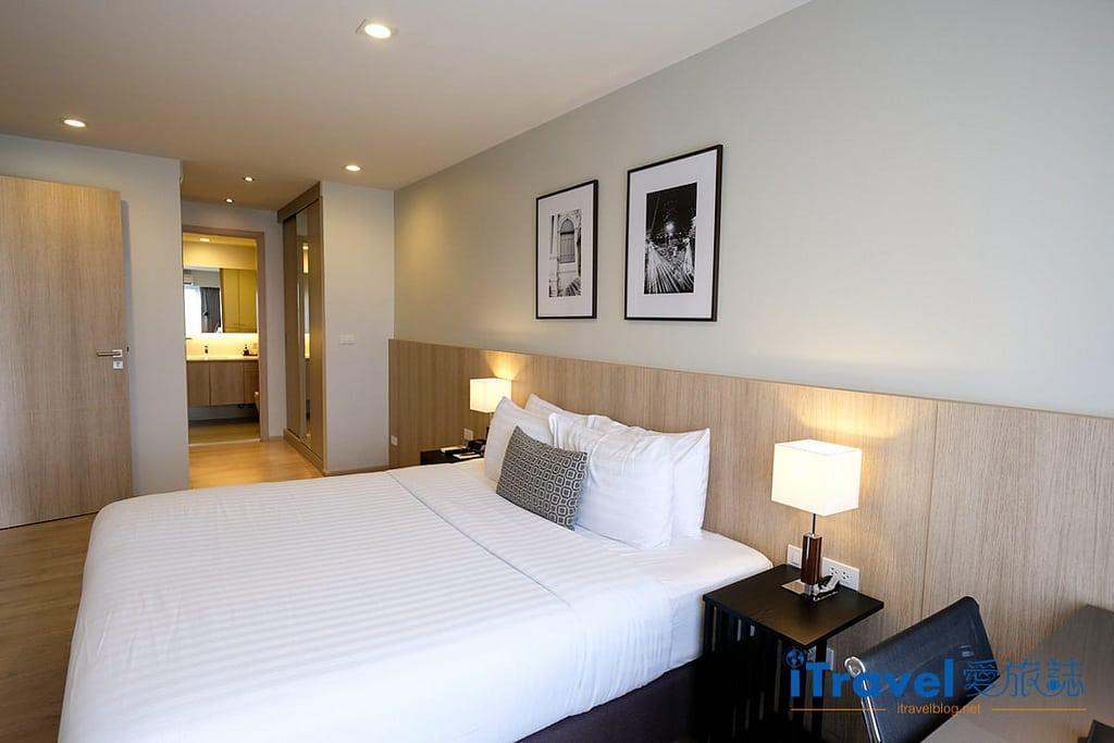 《曼谷飯店推薦》通羅公寓 The Residence on Thonglor:2015年全新開幕,在日式社區享受完整的廳廚與洗衣住宿機能。