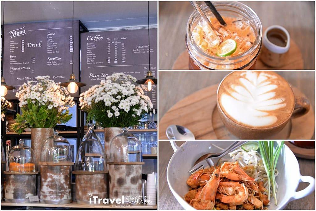 《清邁美食餐廳》Woo Cafe 文青輕食咖啡館,在生活選物風格與花草環繞氛圍暢快聊天吧。