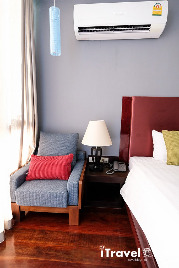 《華欣飯店推薦》尼斯公寓飯店 Nice Residence Hotel:2016年三人房型的新開業公寓式酒店,鄰近Cicada創意市集。