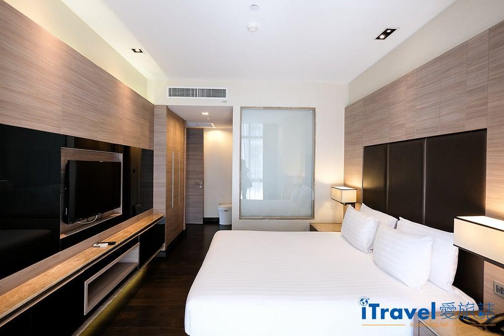 《曼谷飯店推薦》畢里斯頓蘇琪斯公寓 Qiss Residence by Bliston:每晚3千元內超大空間,廳廚衛浴與洗衣起居的完整住宿機能。
